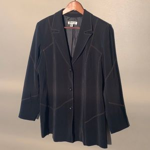 Coldwater Creek Black Blazer Jacket